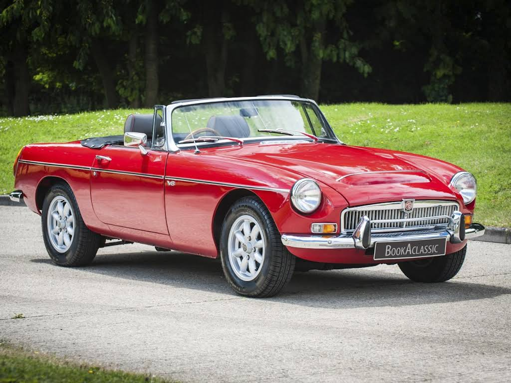 MG V8 Roadster Hire Wadebridge