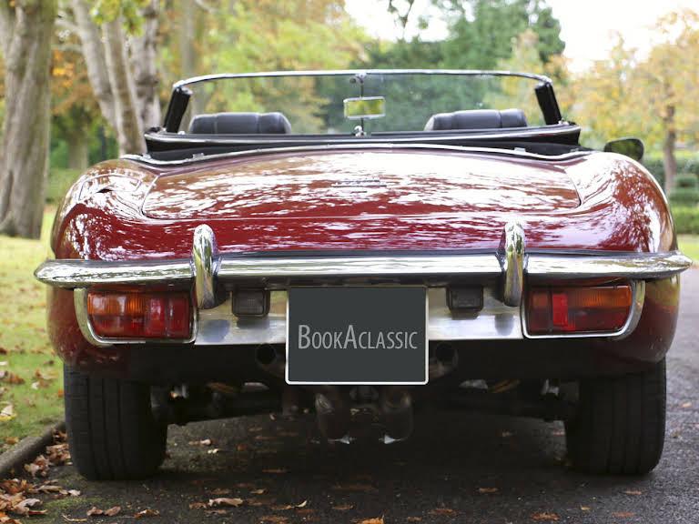 Jaguar E Type Hire Weybridge