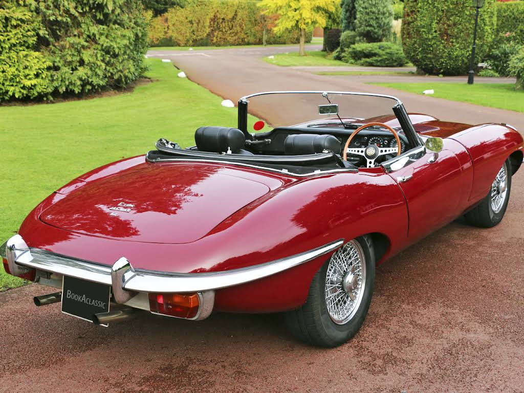 Jaguar E Type For Hire In Weybridge Bookaclassic