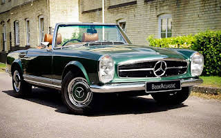 Mercedes 280sl Pagoda Rent East Midlands