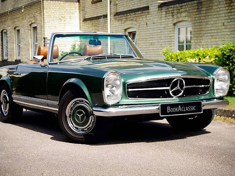 Mercedes 280sl Pagoda Hire Letchworth Garden City