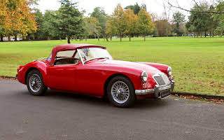 Mg  A Roadster Hire Weybridge