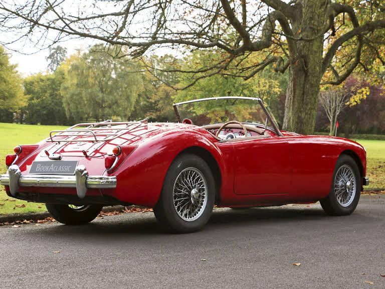 Mg  A Roadster Hire Weybridge