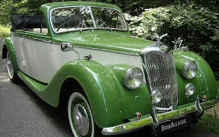 Riley Drophead Tourer Rm Hire York