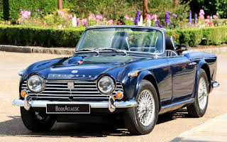Triumph  Tr4a Hire Weybridge