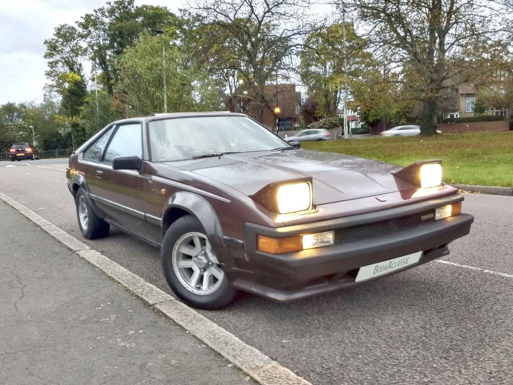 Toyota Celica Supra 2.8i Hire London