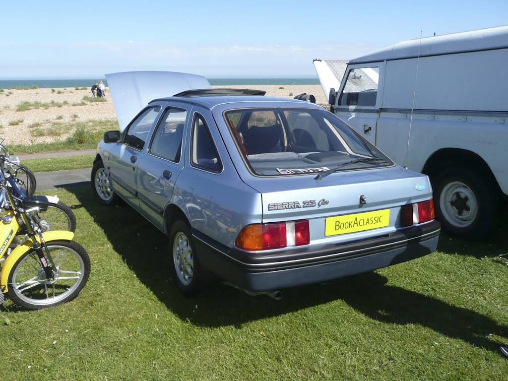 Ford Sierra 2.3 Ghia Hire Deal