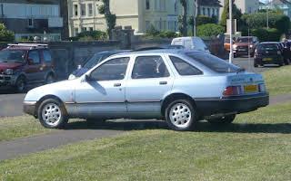 Ford Sierra 2.3 Ghia Rent Eastern