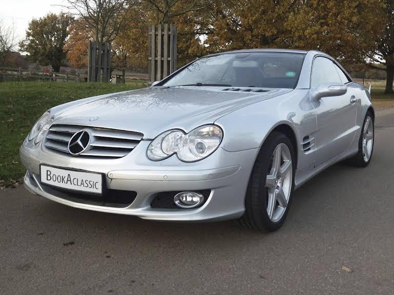 Mercedes 500 Sl Hire Surrey