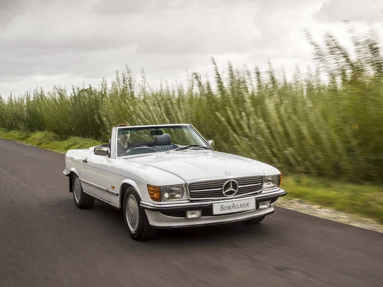 Mercedes Benz 300 Sl Hire Stratford Upon Avon