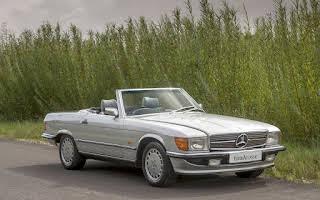 Mercedes-Benz 500 Sl Rent East Midlands