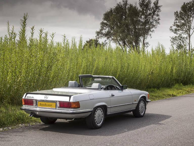 Mercedes Benz 500 Sl For Hire In Stratford Upon Avon