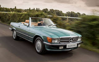 Mercedes-Benz 560 Sl Rent East Midlands