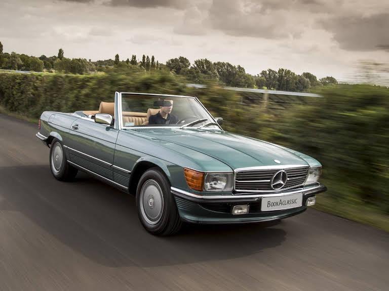 Mercedes Benz  560 Sl Hire Stratford Upon Avon