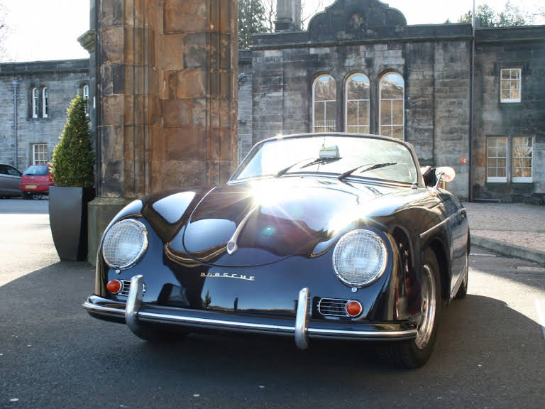 Porsche 356 'd' Roadster Hire Glasgow