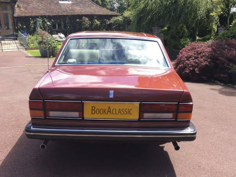 Rolls Royce Silver Spirit Hire Ashford, Kent