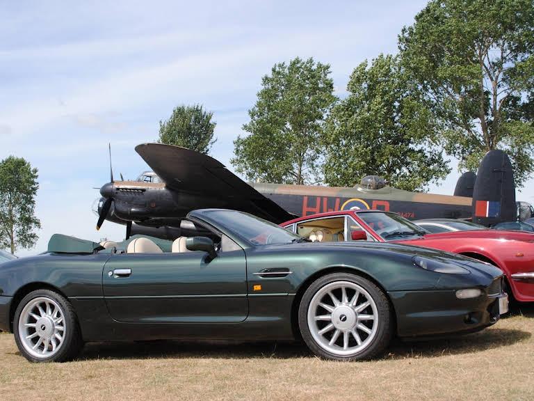 Aston Martin DB7 Volante Hire Shardlow
