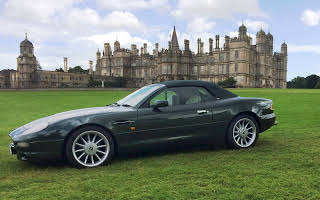 Aston Martin DB7 Volante Rent East Midlands