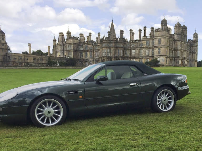 Aston Martin DB7 Volante Hire Shardlow