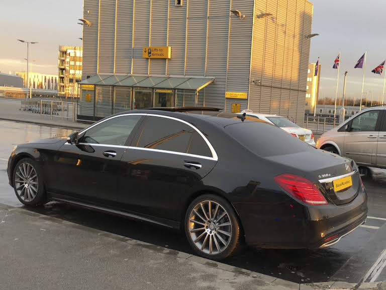 Mercedes Benz S350d Hire London