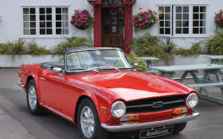 Triumph TR6 Rent East Midlands