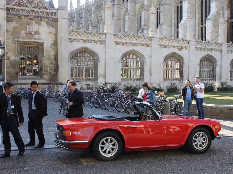 Triumph Tr6 Hire Cambridge