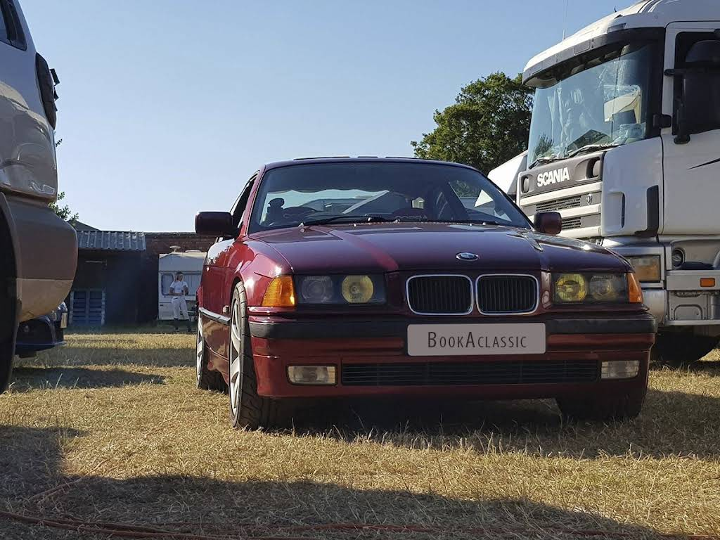 BMW 323i Hire Seaton