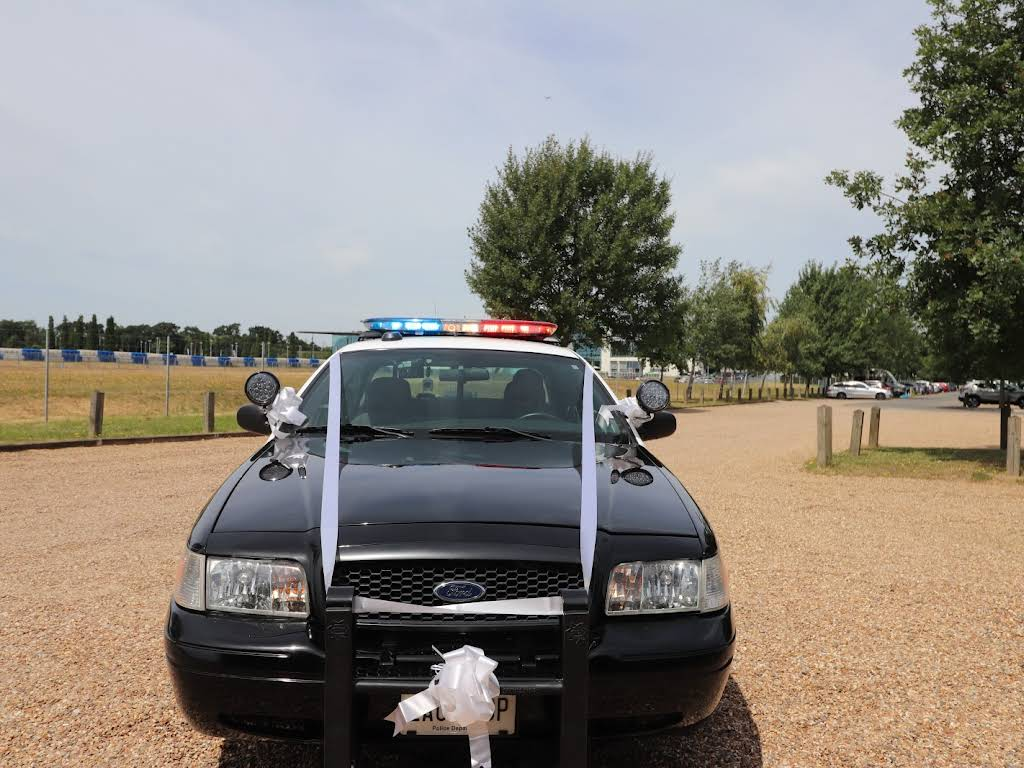 Ford Crown Victoria  P71 Lapd Interceptor Hire Surrey