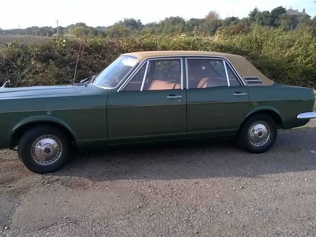 Ford Zephyr Mark 4 Hire Grays