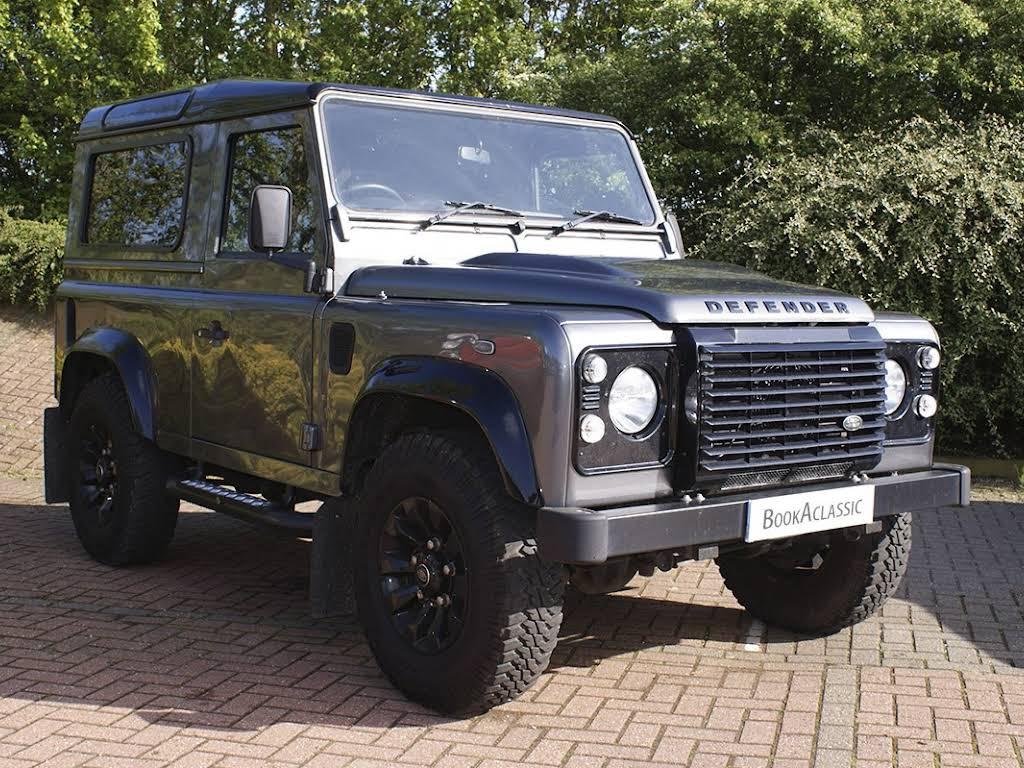Land Rover Defender 90 Hire London