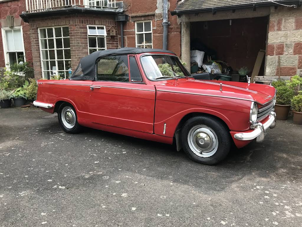 Triumph Herald 13-60 Convertible Hire Bicester