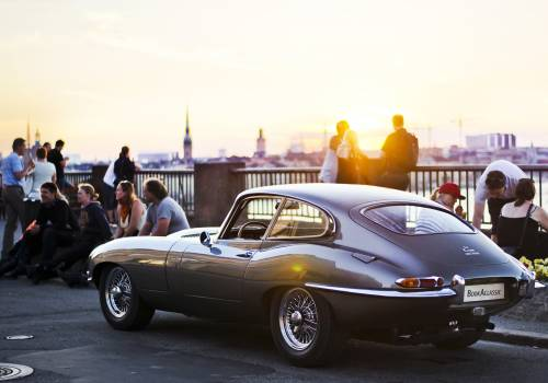 Classic car hire - self drive a classic or vintage car London